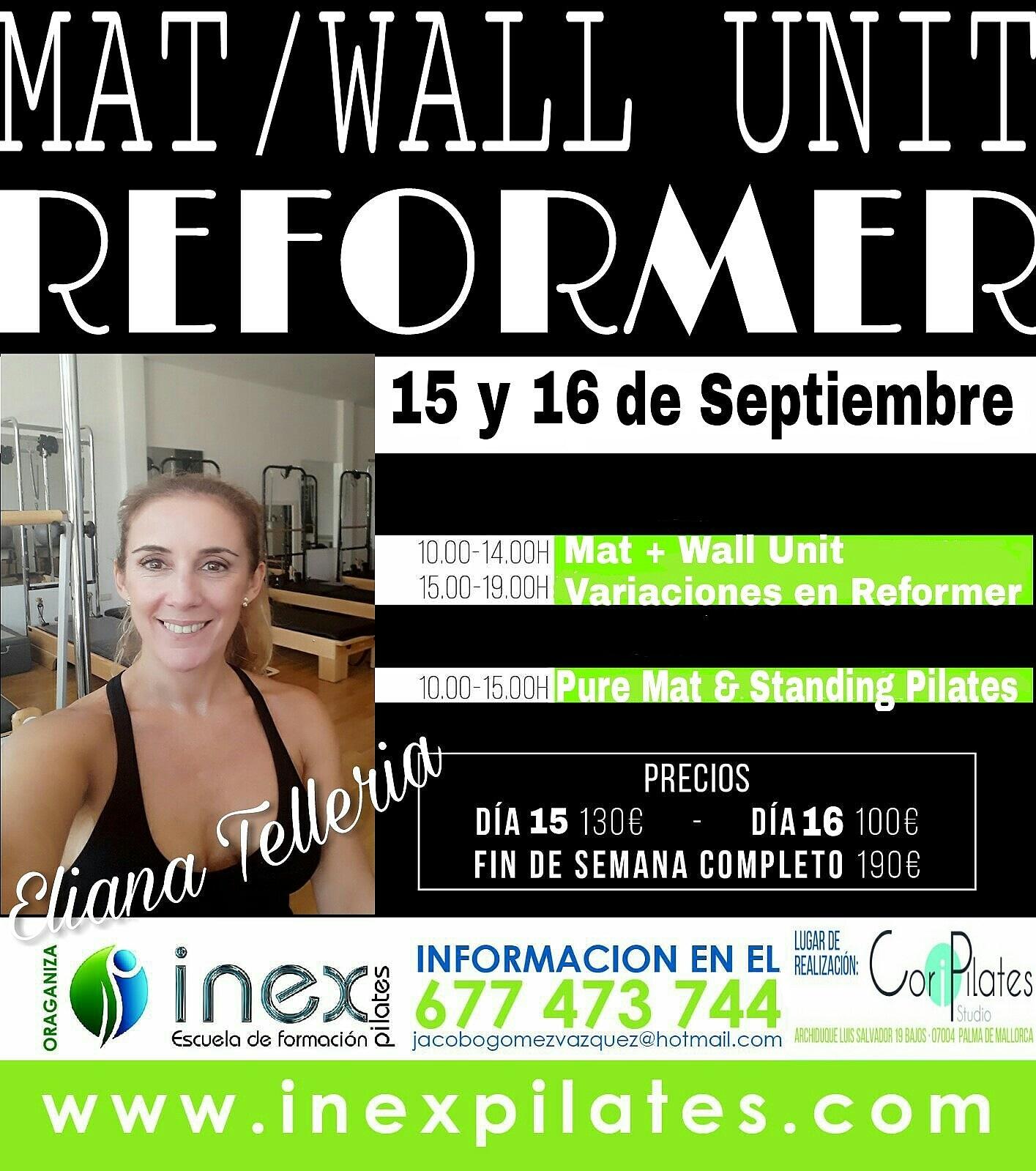 Inex Pilates | Escuela Inex Pilates